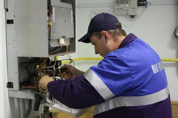 На замену неисправного газового оборудования
