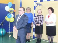 В Седельницкой школе - новый спортивный зал