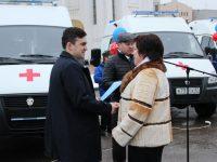 В областные учреждения здравоохранения переданы новые автомобили скорой медицинской помощи