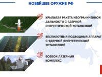 Минобороны принимает идеи названий для трех новейших российских комплексов вооружения