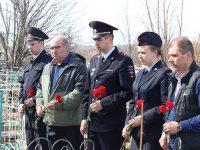 В районе почтили память погибших при исполнении служебного долга
