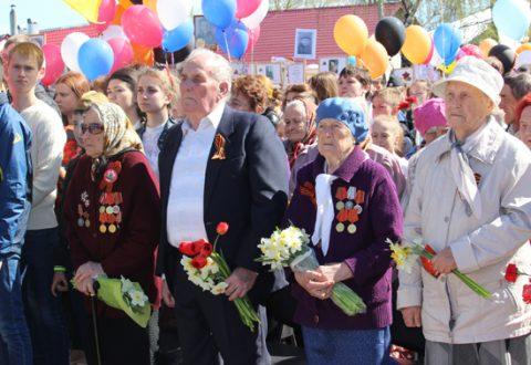 Фоторепортаж: День Победы в Комсомольске