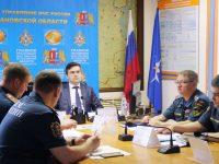 Станислав Воскресенский принял участие во Всероссийском селекторе по предупреждению чрезвычайных ситуаций