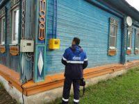 В дома жителей деревни Юрьево пришел газ