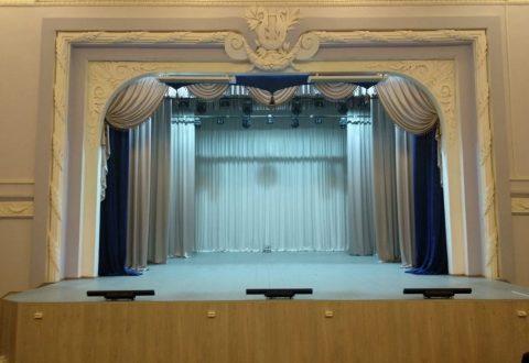 Зрительный зал  ждёт открытия