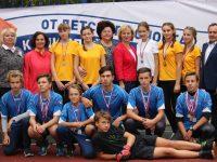 В Подозерской школе — новая спортивная площадка