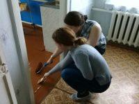 Волонтеры-медики несут «#ДоброВСело»