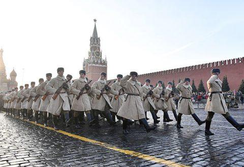 К 77-летию военного парада 1941 года на Красной площади