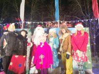 Комсомольск встретил Деда Мороза
