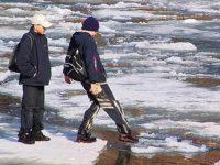 О мерах безопасности  на льду весной