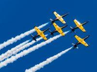Кульминацией лётной программы военно-патриотического праздника «Открытое небо» станет выступление пилотажной группы «Русь»