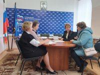 Ивановские партийцы провели прием для родителей дошкольников