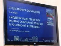 Модернизацию первичной медико-санитарной помощи обсудили на селекторе в региональном исполкоме