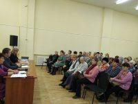 Прошел пленум организации ветеранов
