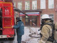 Пожарно-тактические учения прошли в Комсомольске