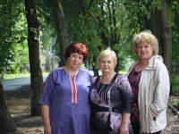 По инициативе марковчан в селе благоустроен сквер