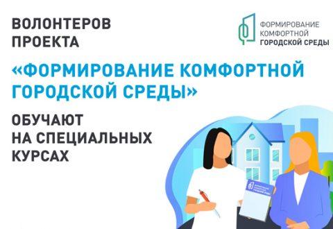 Волонтеров проекта «Формирование комфортной городской среды» обучают на онлайн-курсах