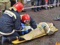 Комсомольские спасатели  показали хорошую выучку