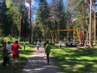 В Ивановской области прошла открытая тренировка в поддержку Елены Вяльбе