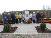 В деревне Куличиха открыт  обновленный памятник Сергею Люлину