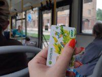 Общественный транспорт: оплата  льготного проезда