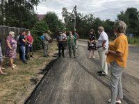 В Инграрском сельском поселении прошли выездные приемы с участием общественников