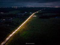 118 км региональных дорог получат в этом году искусственное освещение