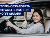 Теперь обжаловать штрафы водители могут онлайн