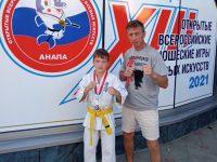 С медалью с Всероссийских юношеских игр